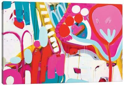 Pink World Canvas Art Print
