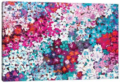 Tiny Flowers Canvas Art Print
