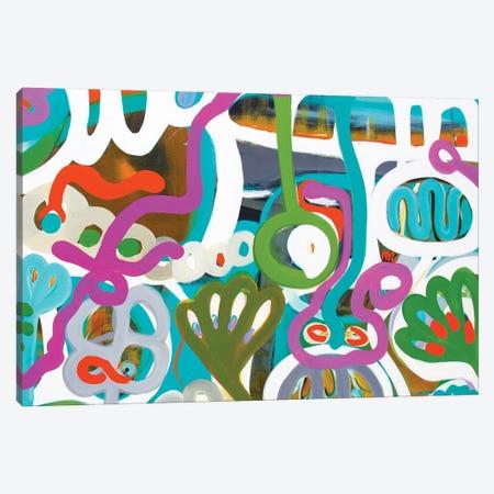 Garden Delight Canvas Print #SMR9} by Sarah Morrow Canvas Wall Art