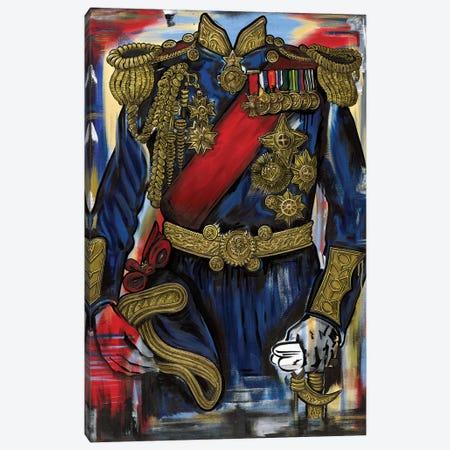 Admiral L Canvas Print #SMS2} by Samara Marlee Shuter Canvas Art Print