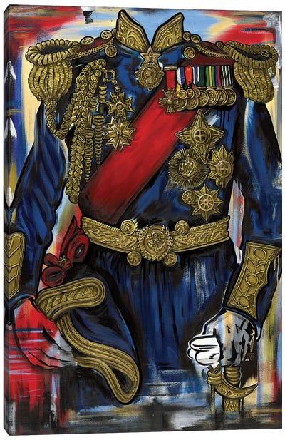 Admiral L Canvas Art Print