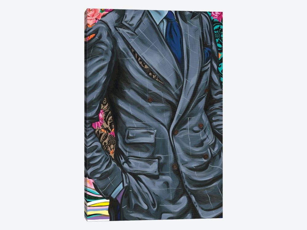 Getting To Know You IX by Samara Marlee Shuter 1-piece Canvas Art Print