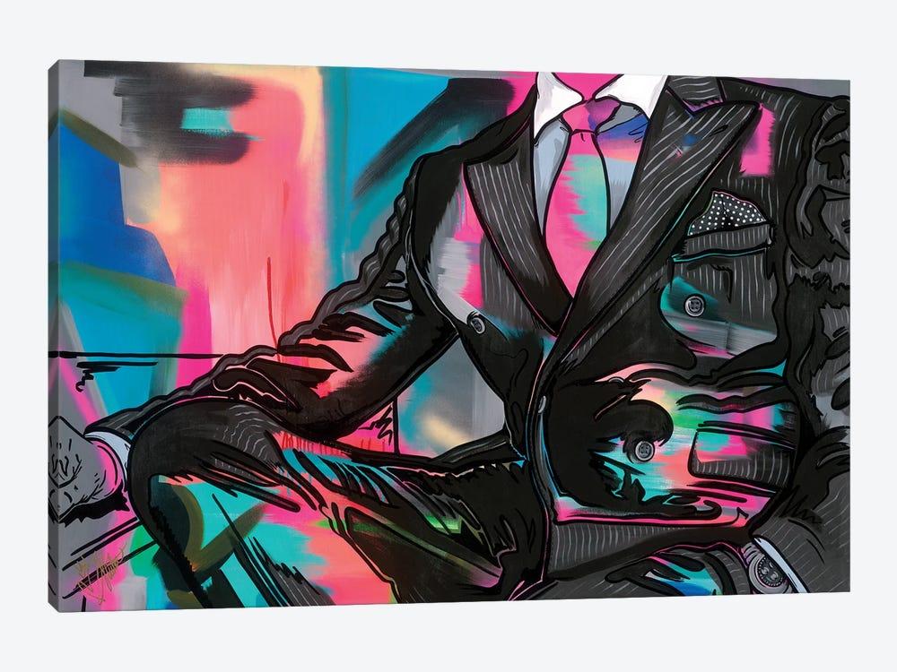 Getting To Know You II by Samara Marlee Shuter 1-piece Canvas Print