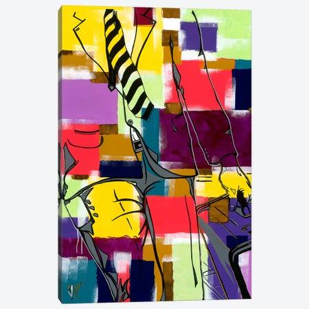 The Introduction I Canvas Print #SMS5} by Samara Marlee Shuter Canvas Wall Art