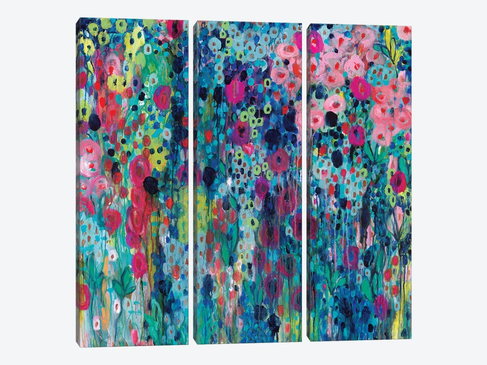 Painted Strings 3-piece Canvas Art