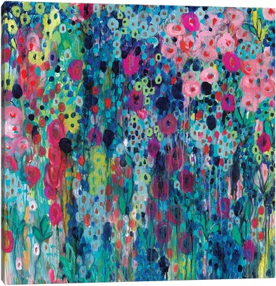 Painted Strings Canvas Art Print