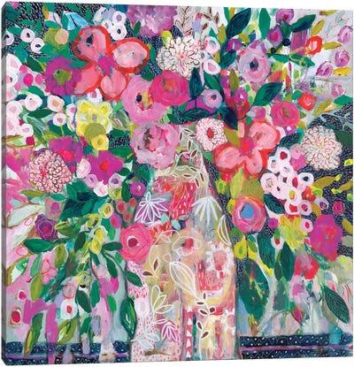 Pale Vase Canvas Art Print