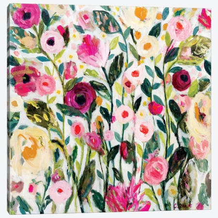 PDX Rose Garden Canvas Print #SMT108} by Carrie Schmitt Canvas Art