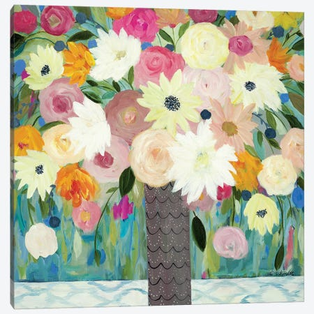 Bask In The Beauty Of It All Canvas Print #SMT10} by Carrie Schmitt Canvas Print