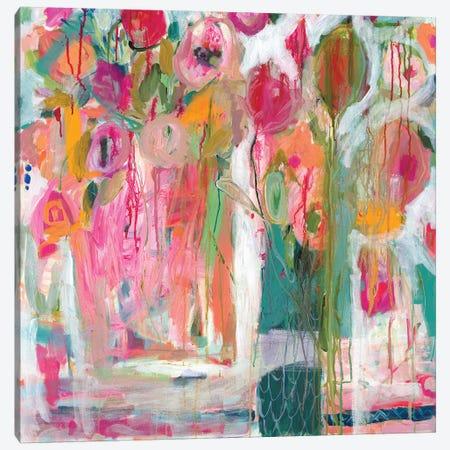Pink Melody I Canvas Print #SMT111} by Carrie Schmitt Canvas Print