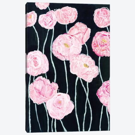 Pink Poppies Canvas Print #SMT113} by Carrie Schmitt Canvas Print
