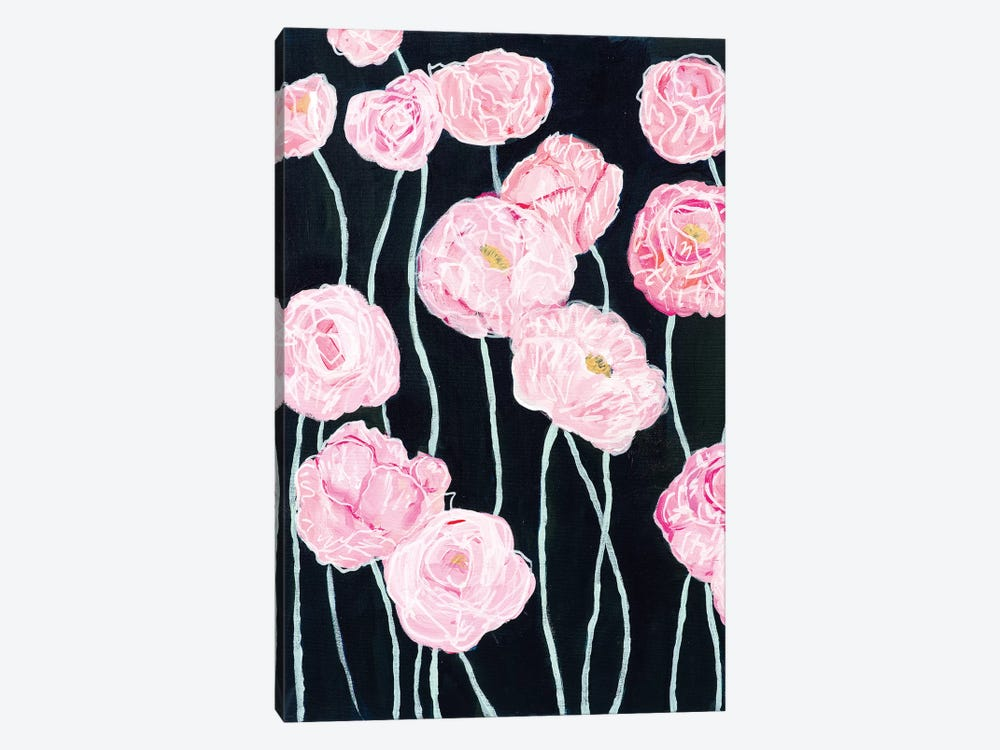 Pink Poppies by Carrie Schmitt 1-piece Art Print