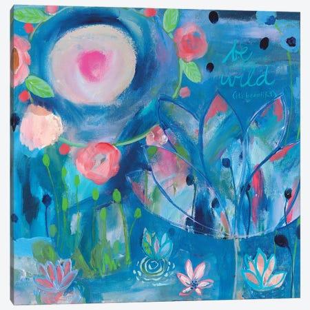 Be Wild Canvas Print #SMT11} by Carrie Schmitt Canvas Print