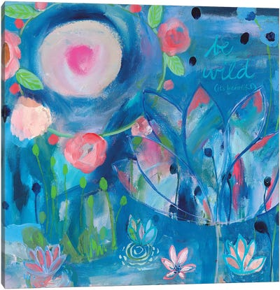 Be Wild Canvas Art Print