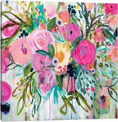 Rose Burst Canvas Art Print