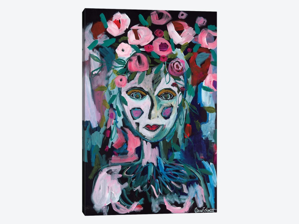 Rose Goddess by Carrie Schmitt 1-piece Canvas Art