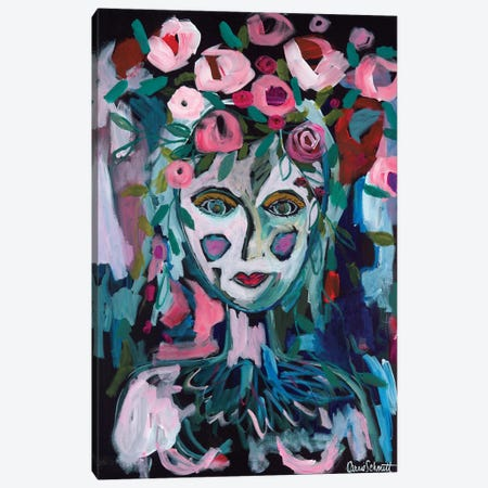 Rose Goddess Canvas Print #SMT125} by Carrie Schmitt Canvas Art Print