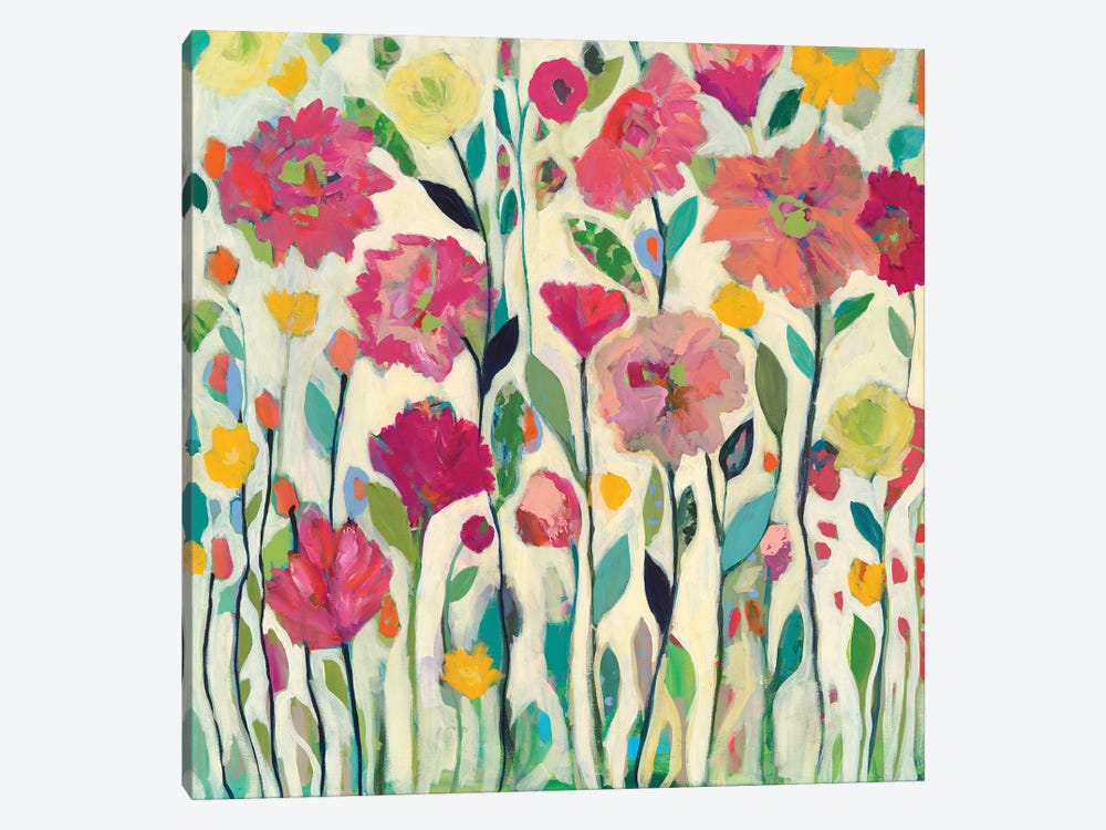 She Lived In Full Bloom by Carrie Schmitt 1-piece Canvas Wall Art