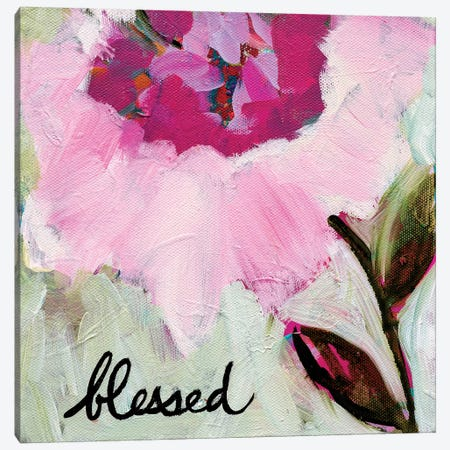 Blessed Canvas Print #SMT13} by Carrie Schmitt Canvas Print
