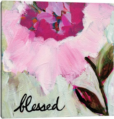 Blessed Canvas Art Print
