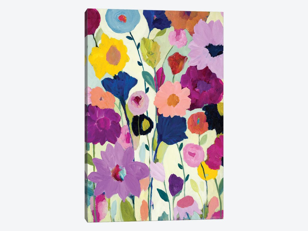 Blooms Have Burst by Carrie Schmitt 1-piece Canvas Art