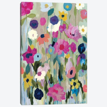 Too Pretty To Pick Canvas Print #SMT155} by Carrie Schmitt Canvas Wall Art