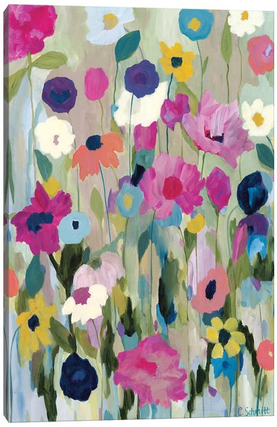 Too Pretty To Pick Canvas Art Print