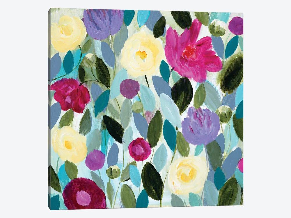 Tranquility Blooms by Carrie Schmitt 1-piece Canvas Artwork