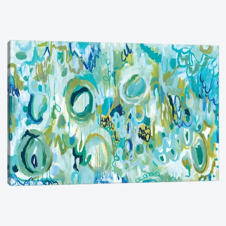 Ujjayi Pranayama Canvas Print #SMT157} by Carrie Schmitt Canvas Wall Art