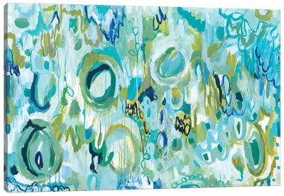 Ujjayi Pranayama Canvas Art Print