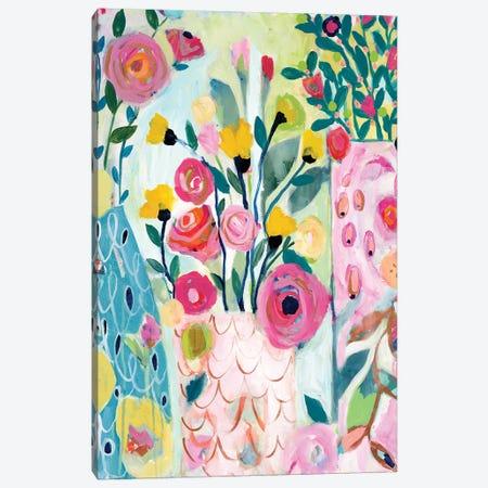 Vase Of Love Canvas Print #SMT159} by Carrie Schmitt Canvas Art Print