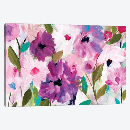 Blossoming Canvas Print #SMT15} by Carrie Schmitt Canvas Artwork