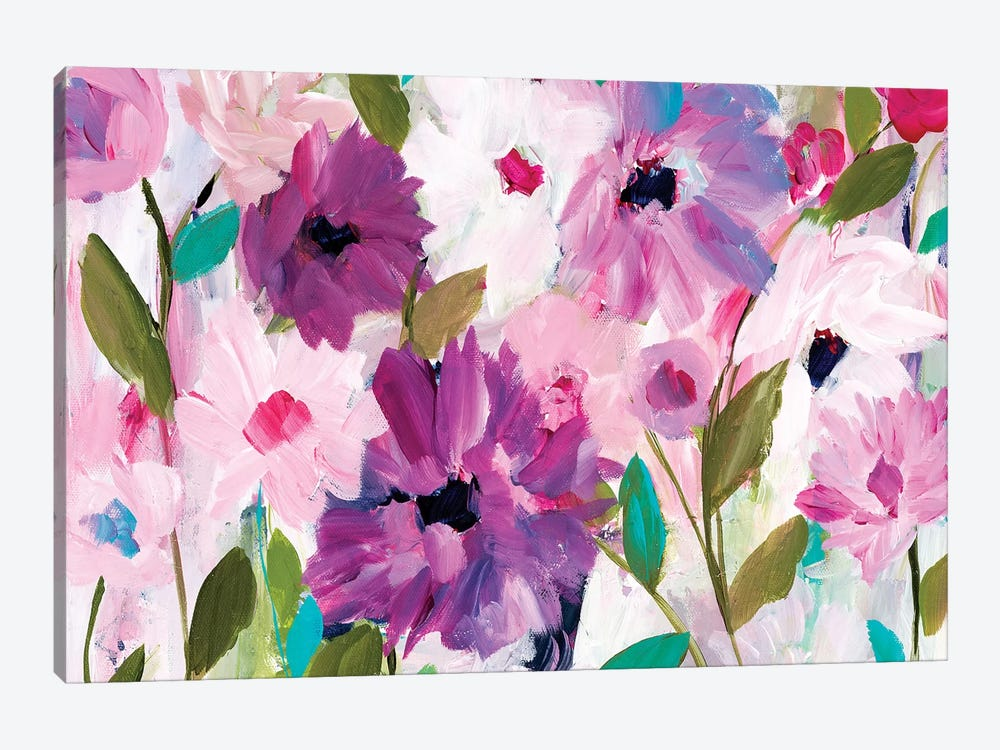 Blossoming by Carrie Schmitt 1-piece Canvas Art Print