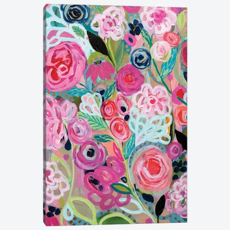 Whimsy 3-Piece Canvas #SMT165} by Carrie Schmitt Canvas Print