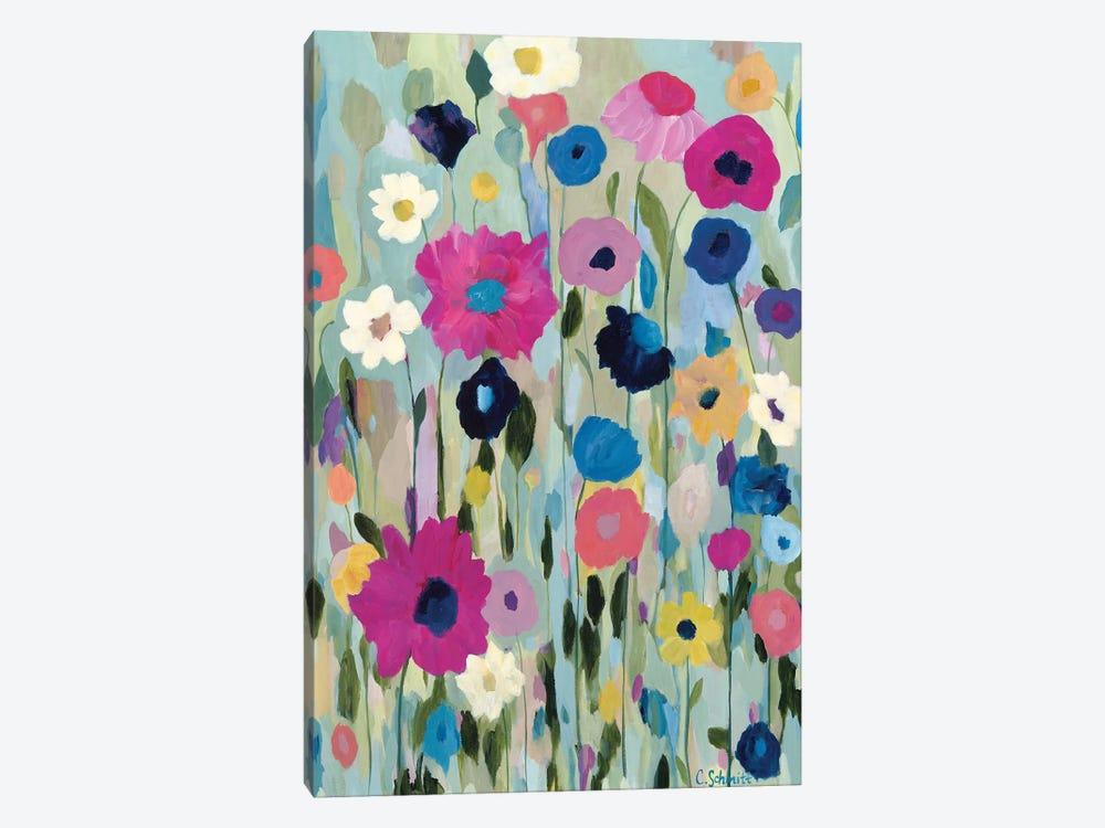 Wild Flowers by Carrie Schmitt 1-piece Canvas Art Print