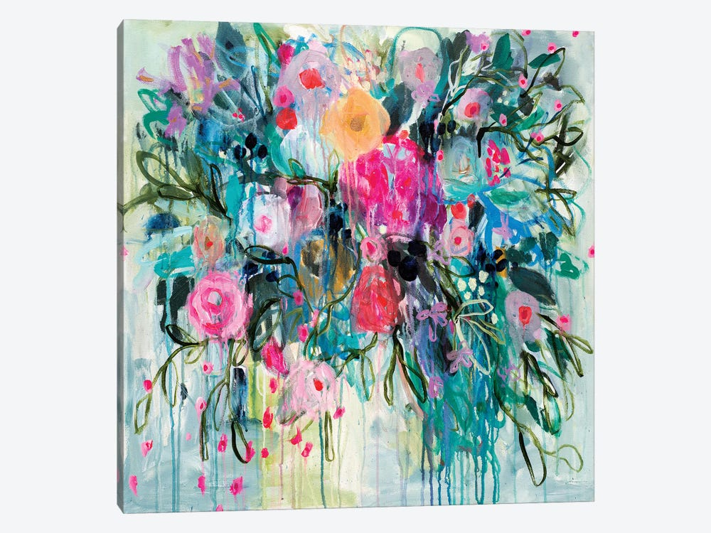 Born Botanical 1-piece Canvas Art