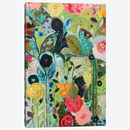 Botanical Bliss 3-Piece Canvas #SMT17} by Carrie Schmitt Canvas Art