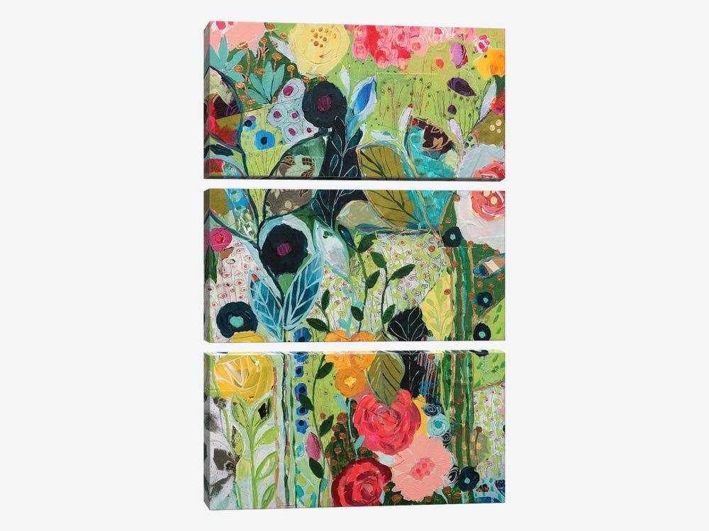 Botanical Bliss by Carrie Schmitt 3-piece Canvas Print
