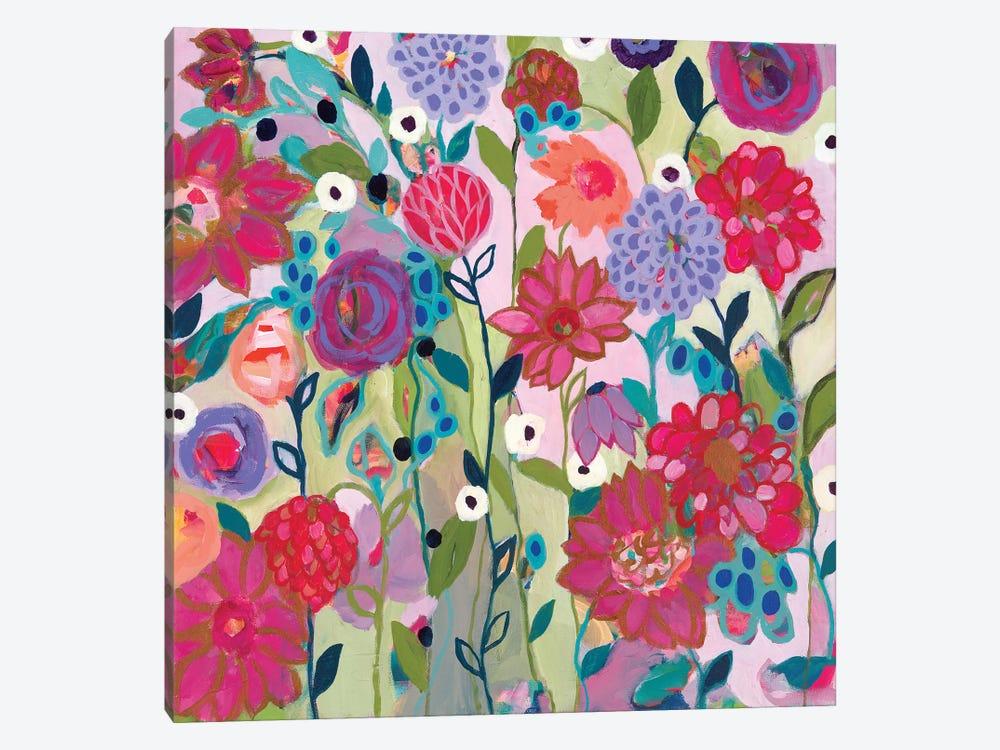 Adventures On The Garden Path by Carrie Schmitt 1-piece Canvas Print