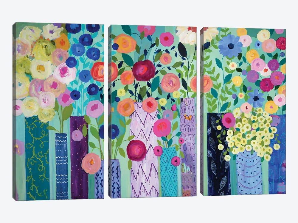 Bounty VI by Carrie Schmitt 3-piece Canvas Print