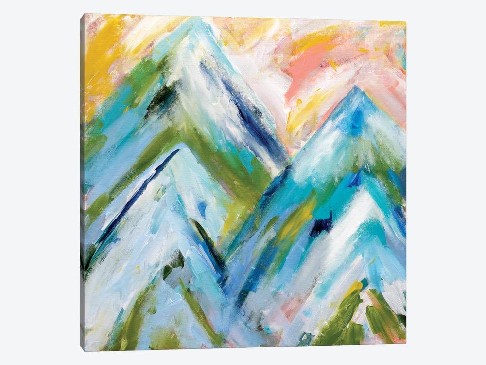 Colorado Bluebird Sky by Carrie Schmitt 1-piece Canvas Print