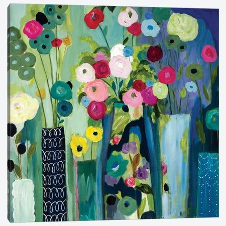 Create Beauty Every Day Canvas Print #SMT29} by Carrie Schmitt Canvas Artwork
