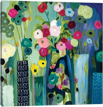 Create Beauty Every Day Canvas Art Print