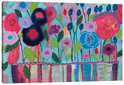 Cultivate Joy Canvas Art Print