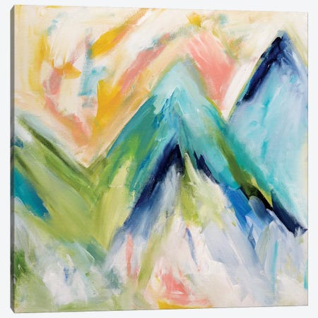 Denver Surprise Canvas Print #SMT33} by Carrie Schmitt Canvas Art Print