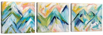 Denver Surprise Triptych Canvas Art Print