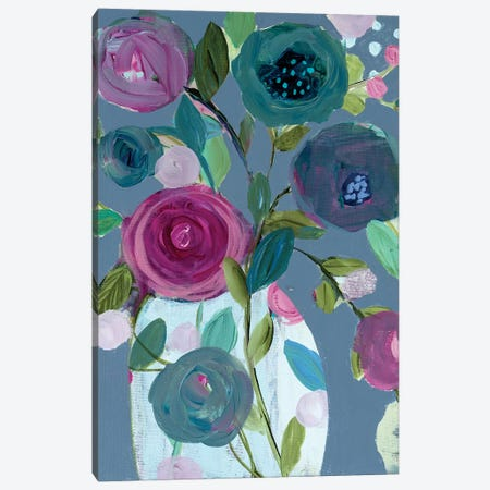 Easy Joy Canvas Print #SMT40} by Carrie Schmitt Canvas Art