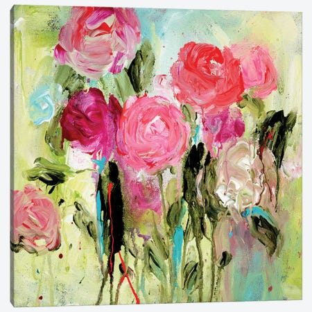 Entre Nous Canvas Print #SMT42} by Carrie Schmitt Canvas Artwork