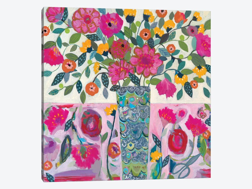 Amazing Vase by Carrie Schmitt 1-piece Canvas Art