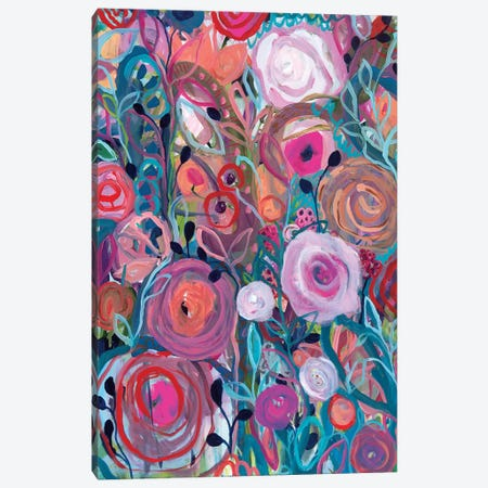 Floral Forest Canvas Print #SMT53} by Carrie Schmitt Canvas Art Print